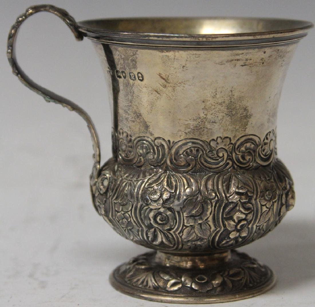 GEORGE III SILVER CUP WITH HALLMARKS