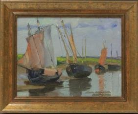 CHARLES ROLLO PETERS (1862-1928), OIL ON CANVAS