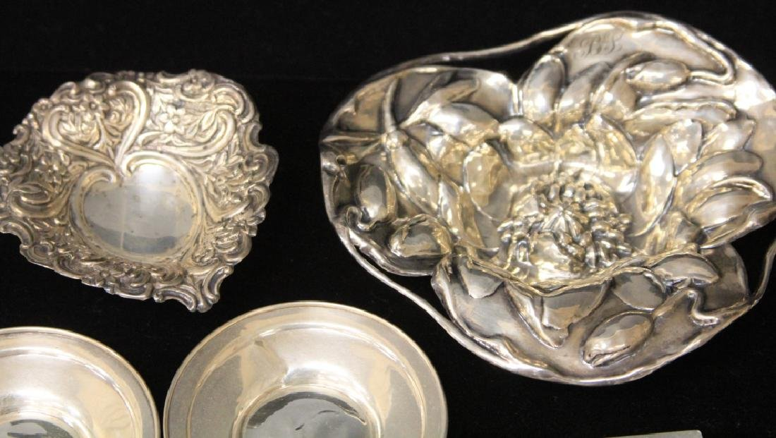 LOT OF (33) STERLING SILVER TRAYS/BOWLS - 2