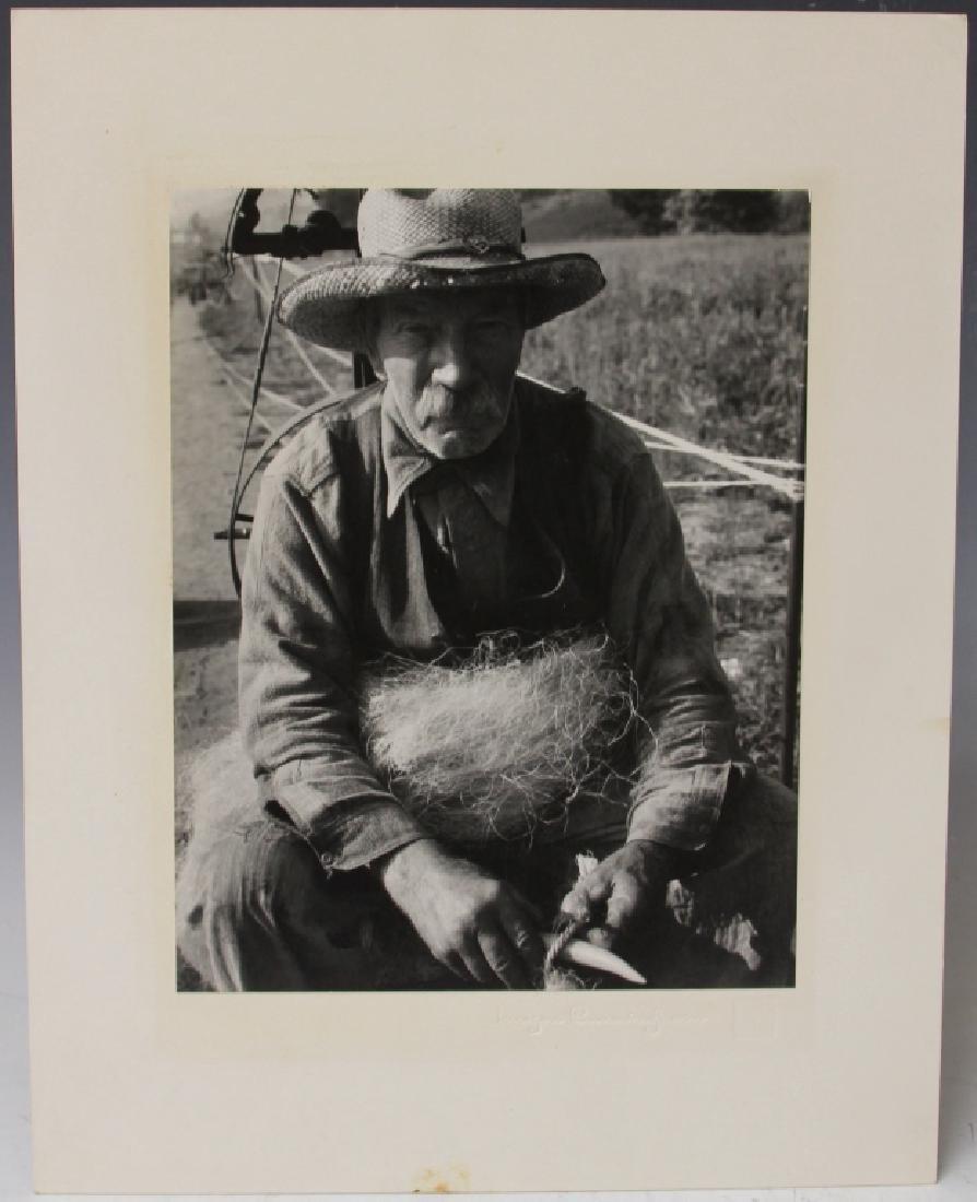 LOT OF (2) IMOGEN CUNNINGHAM (1883-1976) PORTRAITS - 4