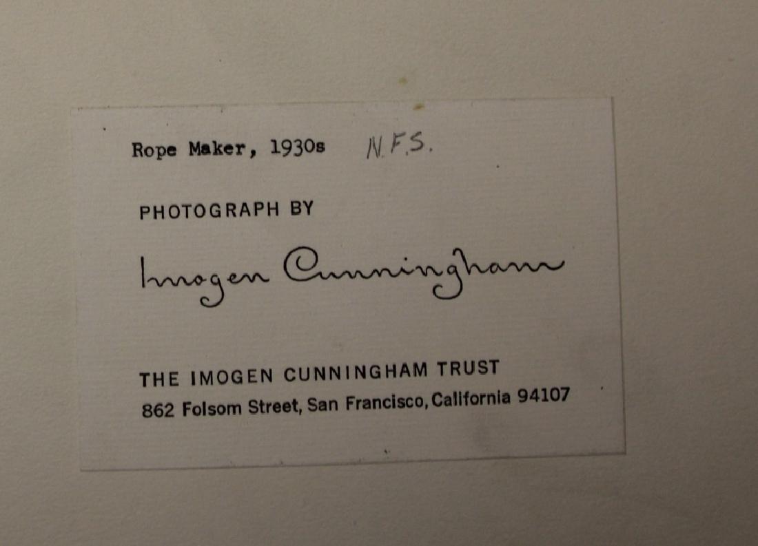LOT OF (2) IMOGEN CUNNINGHAM (1883-1976) PORTRAITS - 6