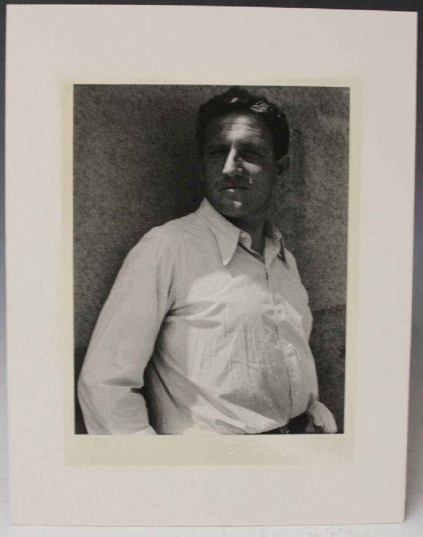 LOT OF (2) IMOGEN CUNNINGHAM (1883-1976) PORTRAITS