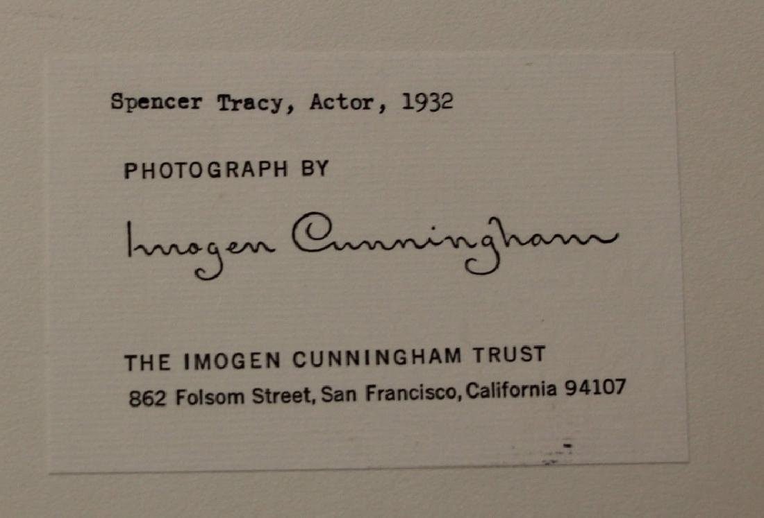 LOT OF (2) IMOGEN CUNNINGHAM (1883-1976) PORTRAITS - 3