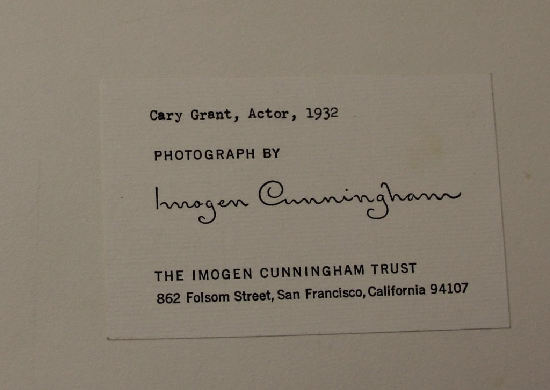 LOT OF (2) IMOGEN CUNNINGHAM (1883-1976) PORTRAITS - 6