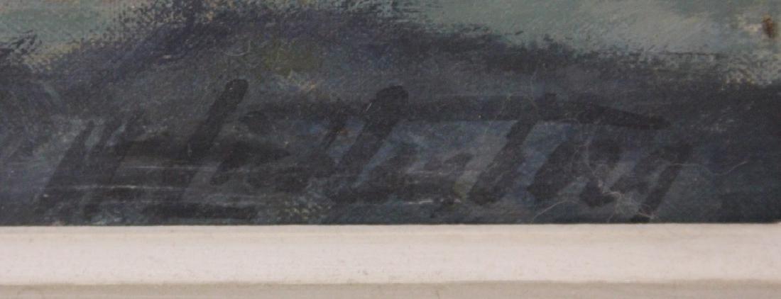 MANES LICHTENBERG (b. 1920), OIL ON CANVAS - 3