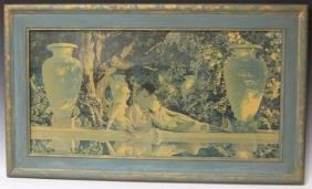 MAXFIELD PARRISH (1870-1966), VINTAGE PRINT