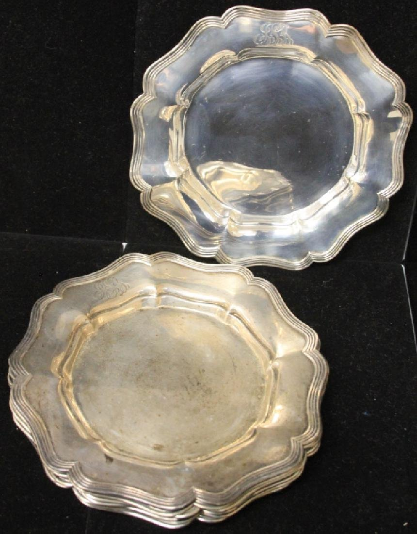 LOT OF (8) STERLING SILVER PLATES - 2