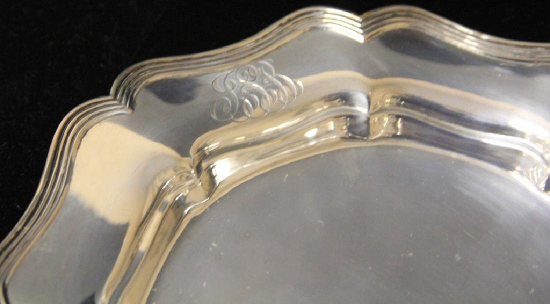LOT OF (8) STERLING SILVER PLATES - 4