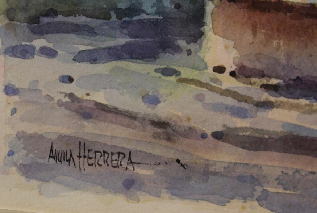 ARTIST SIGNED WATERCOLOR OF SAN MIGUEL DE ALLENDE - 2