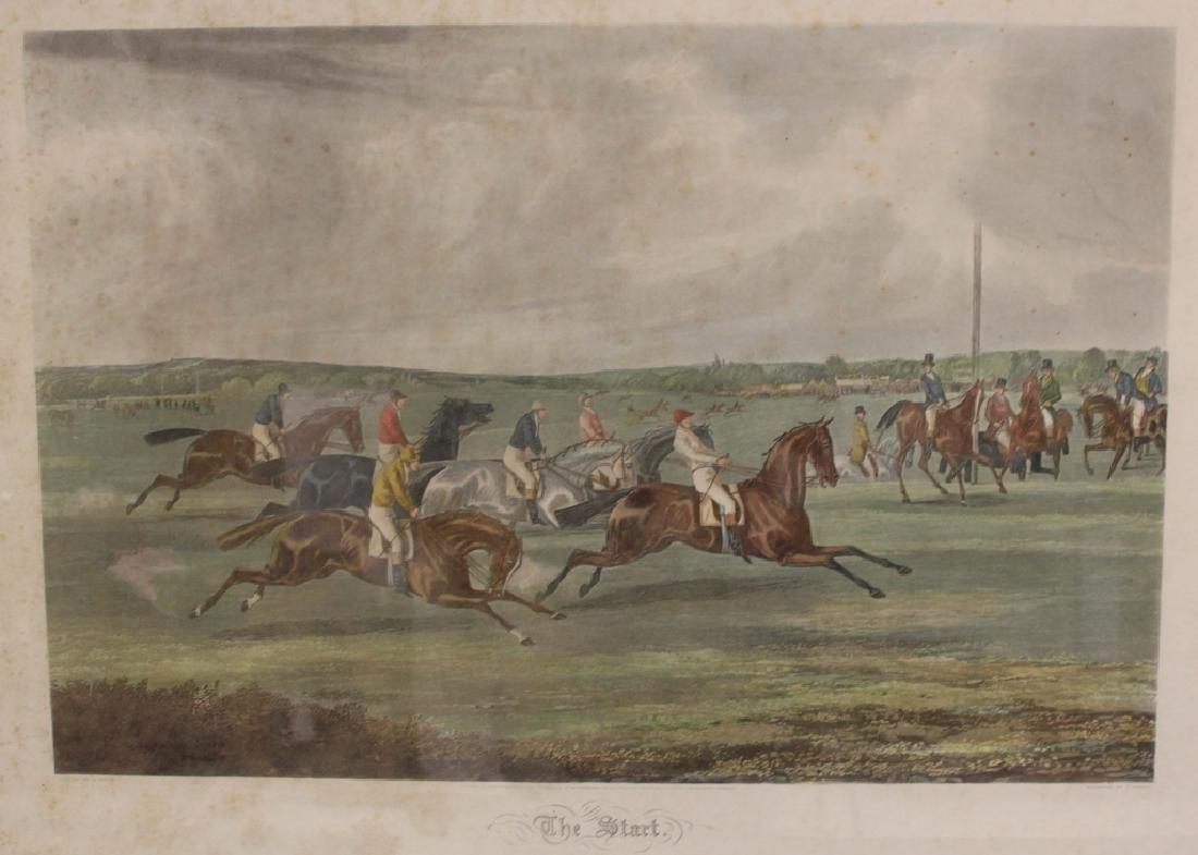 LOT OF (4) VINTAGE HORSE RACING PRINTS - 3