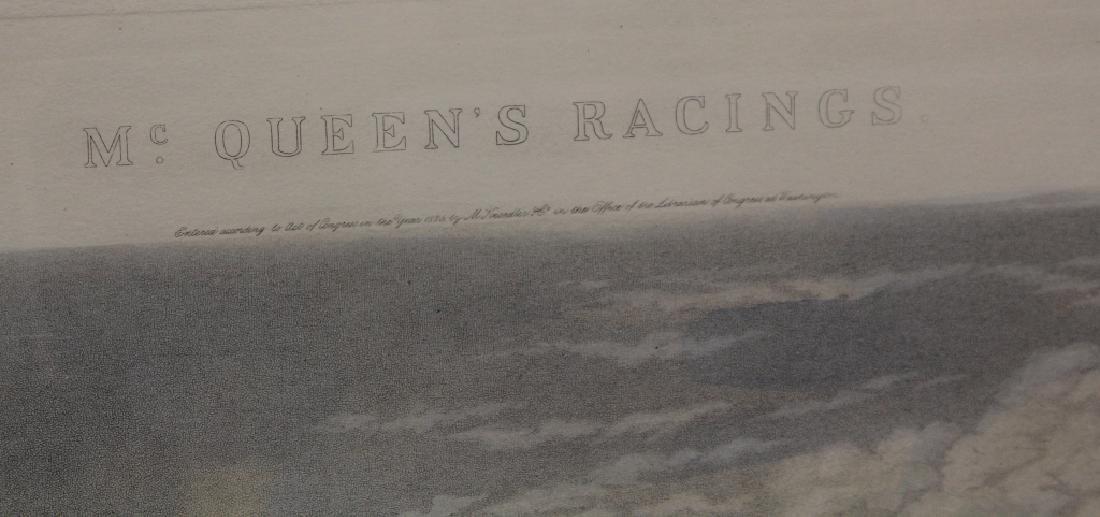 VINTAGE HORSE RACING PRINT, JOCKEY OF THE DAY - 4