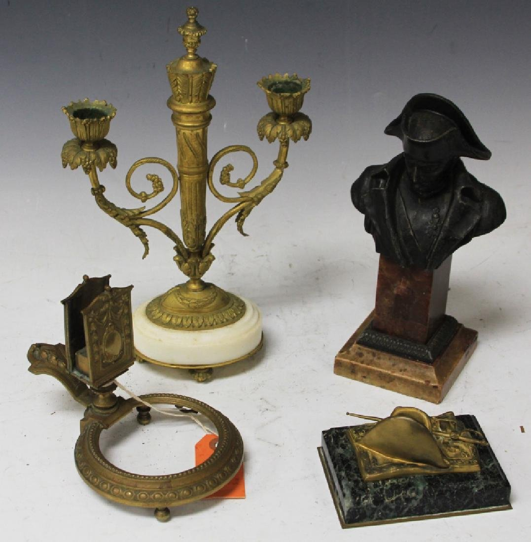 LOT OF (4) FRENCH DECORATIVE, EARLY 20TH CENTURY