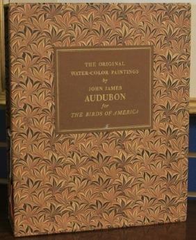TWO VOLUME SET OF J.J. AUDUBON BOOKS