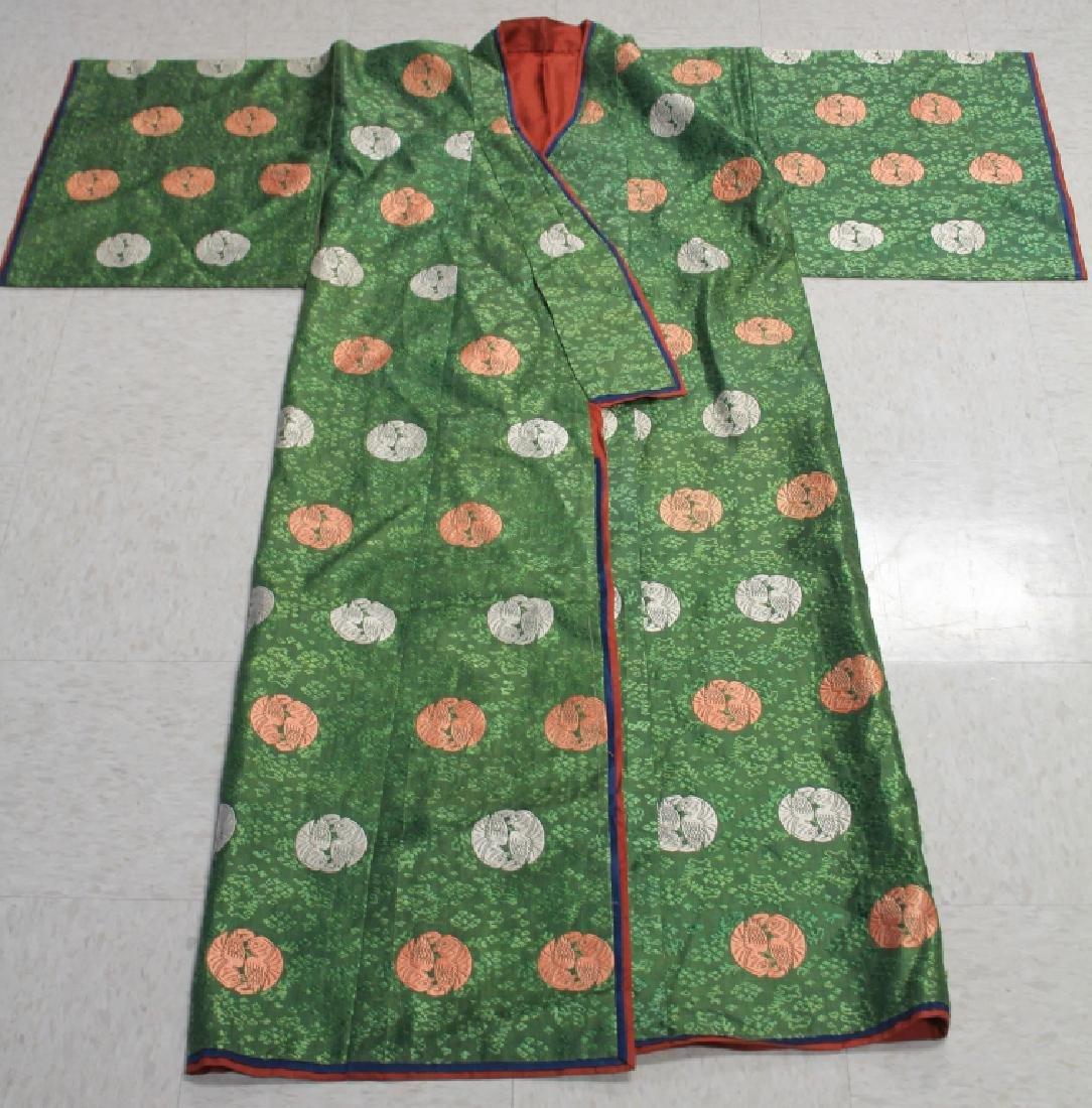 LOT OF (3) JAPANESE KIMONOS
