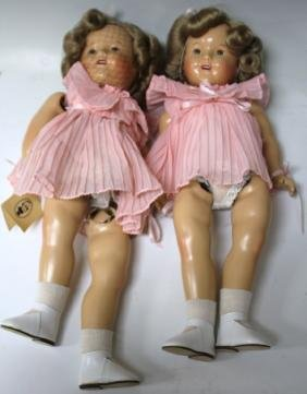 LOT OF (2) SHIRLEY TEMPLE DOLLS