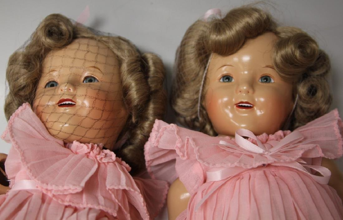 LOT OF (2) SHIRLEY TEMPLE DOLLS - 2