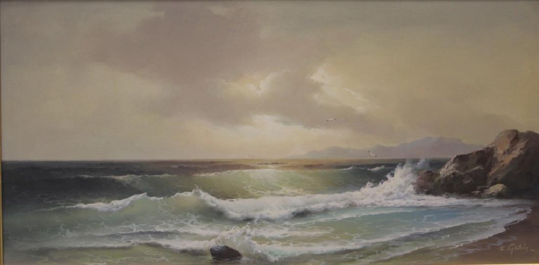 EUGENE GARIN (1922-1994), OIL ON CANVAS