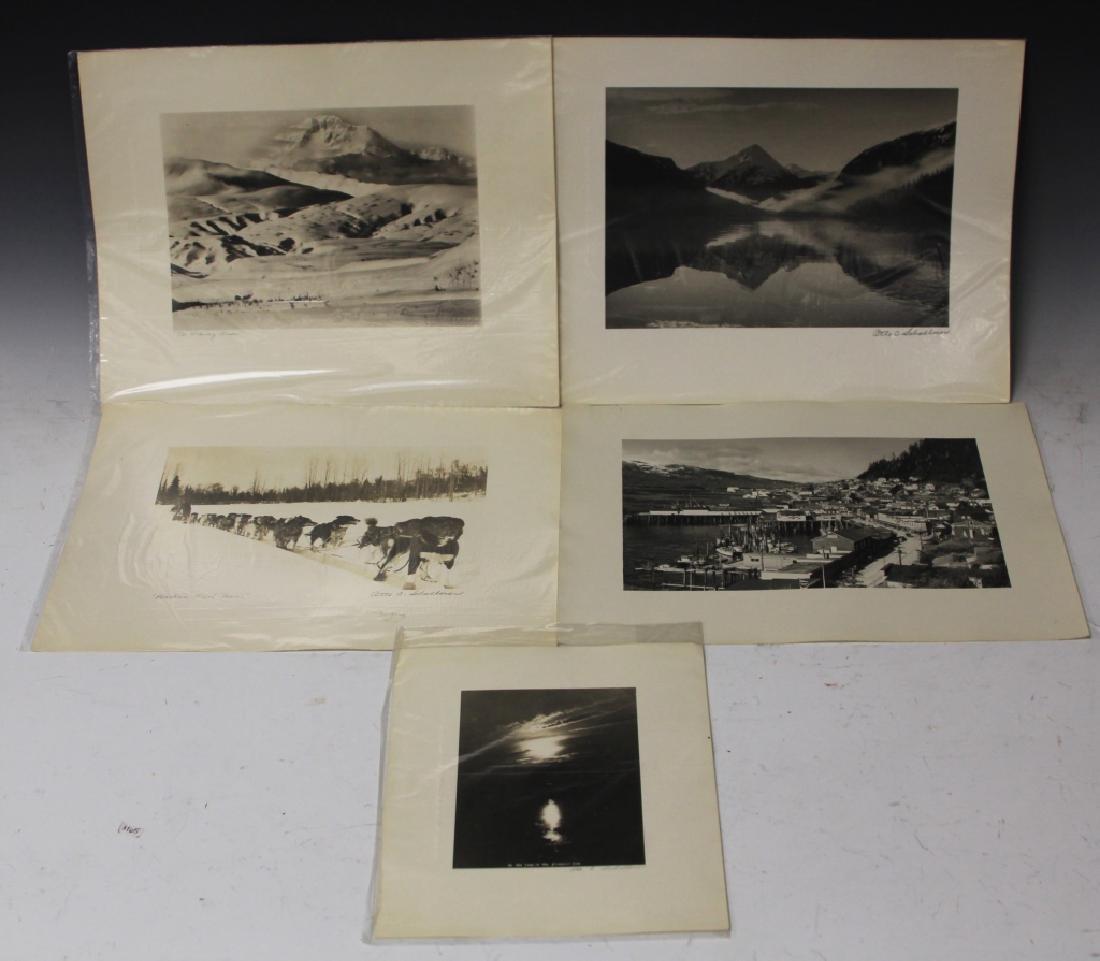 ASSORTMENT OF VINTAGE ALASKAN PHOTOS