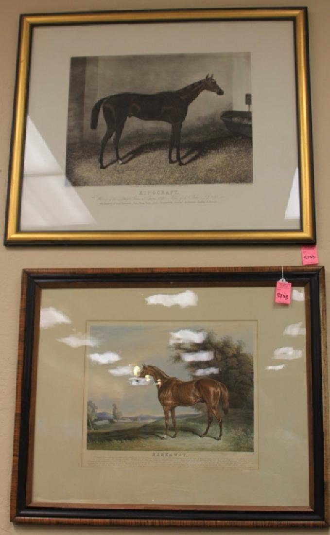 LOT OF (3) HUNT AND SON, E. DUNCAN ENGRAVINGS