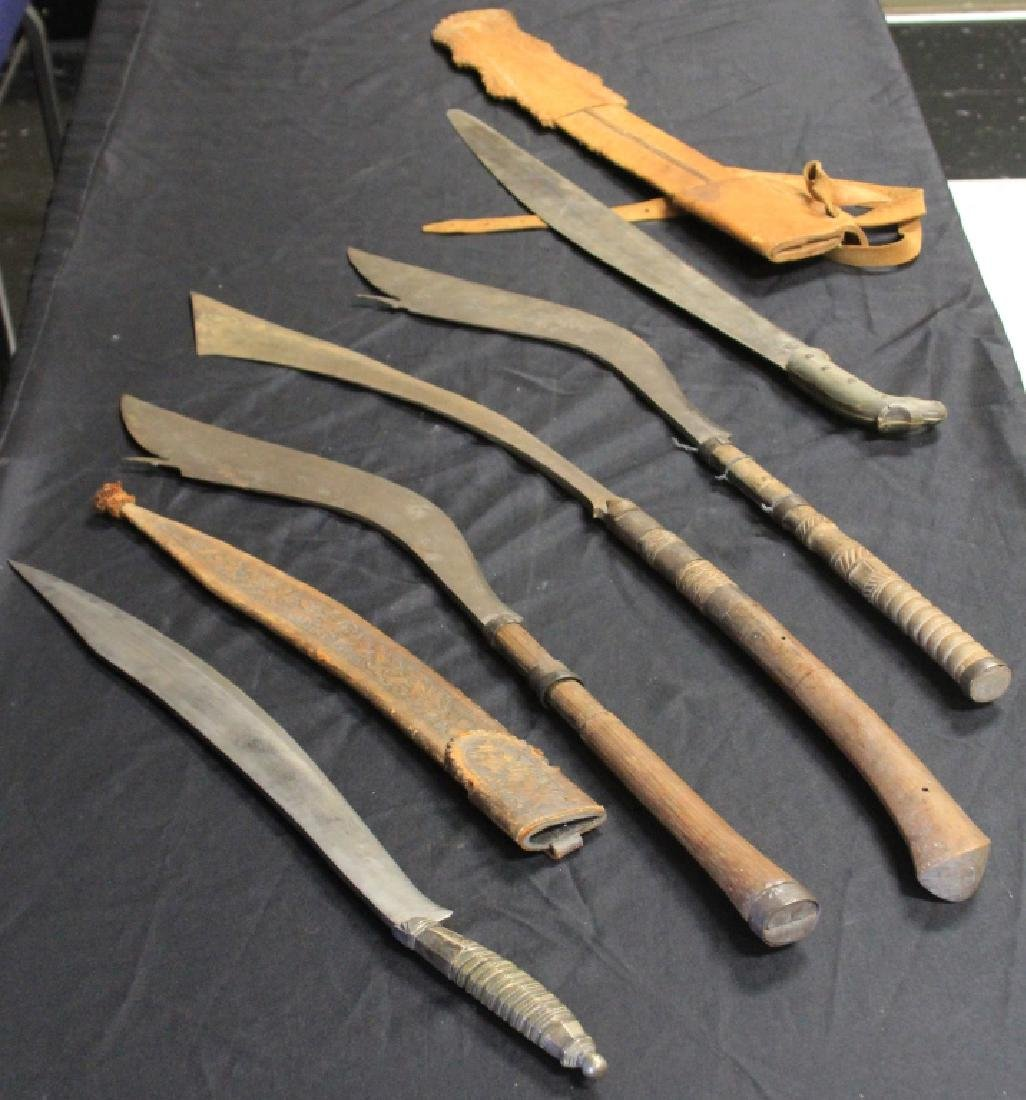 LOT OF (5) SOUTH EASTERN ASIA BLADES
