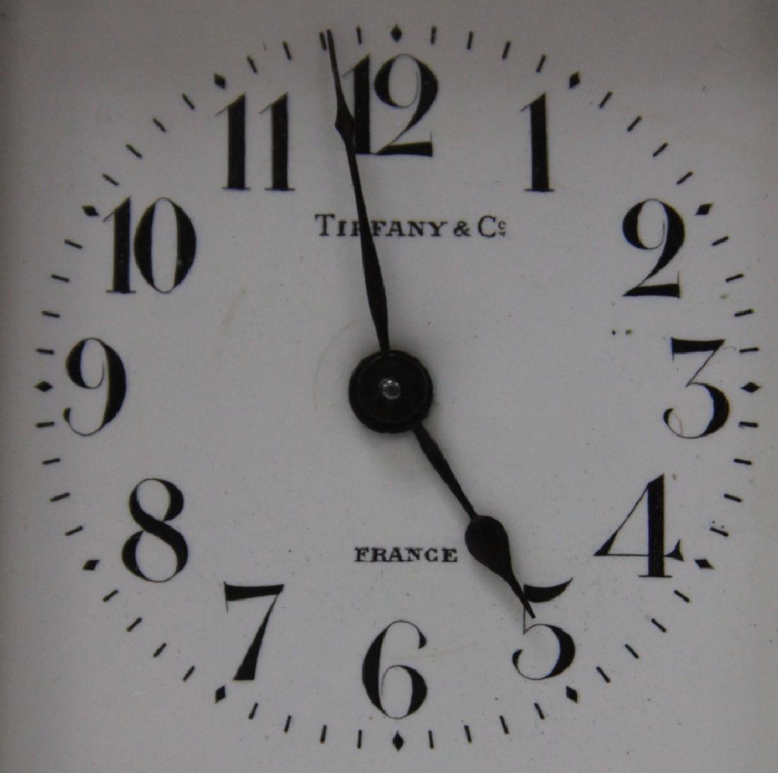 TIFFANY AND COMPANY CARRIAGE CLOCK - 6