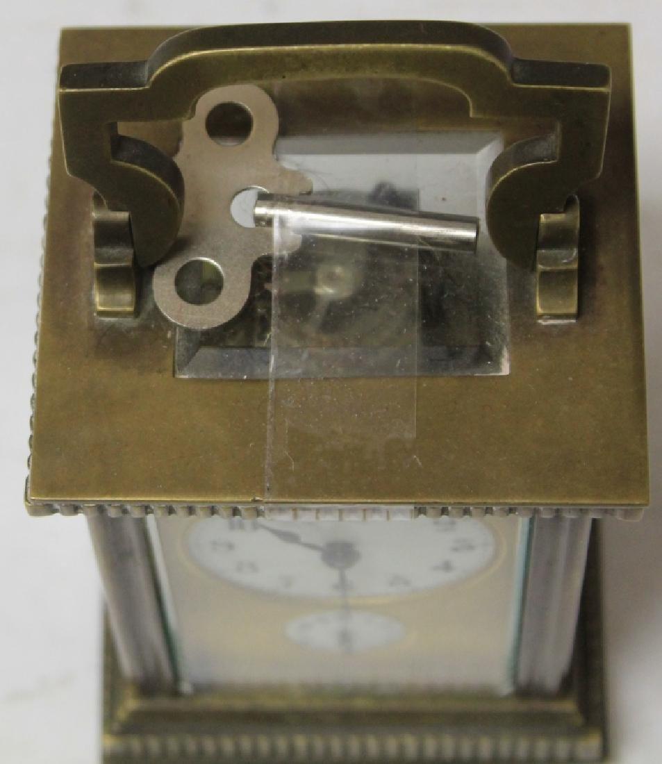 SHREVE AND COMPANY DOUBLE CLOCK - 4