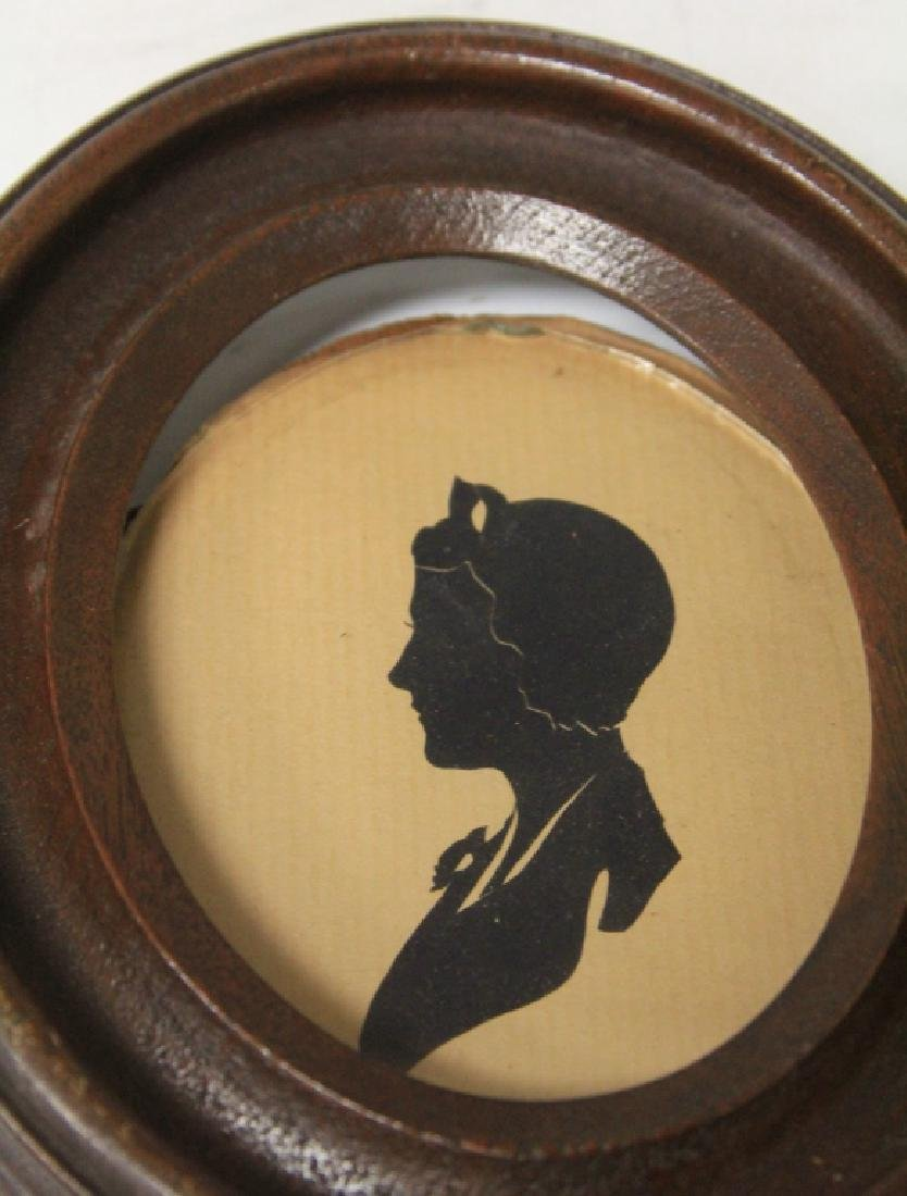 LOT OF (10) VINTAGE SILHOUETTES - 6
