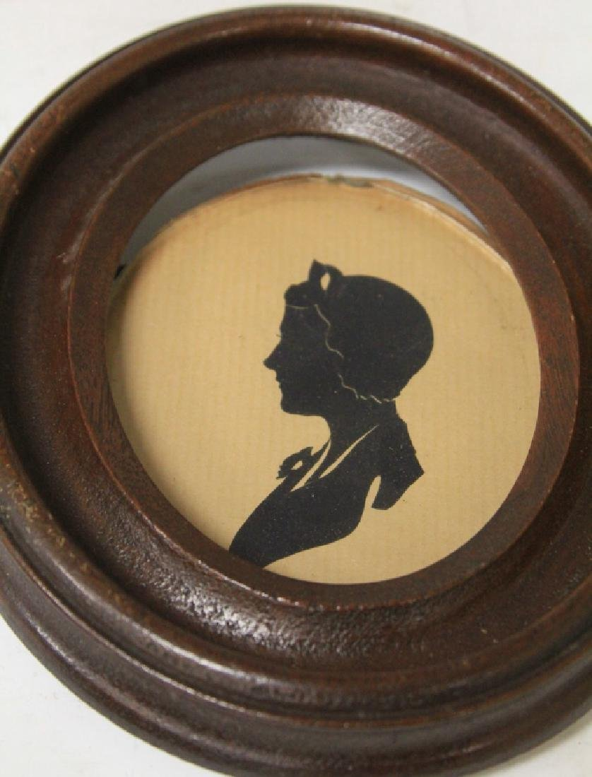 LOT OF (10) VINTAGE SILHOUETTES - 7