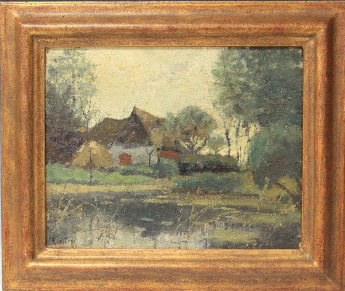 THOMAS R. CURTIN (1899-1977), OIL ON CANVAS