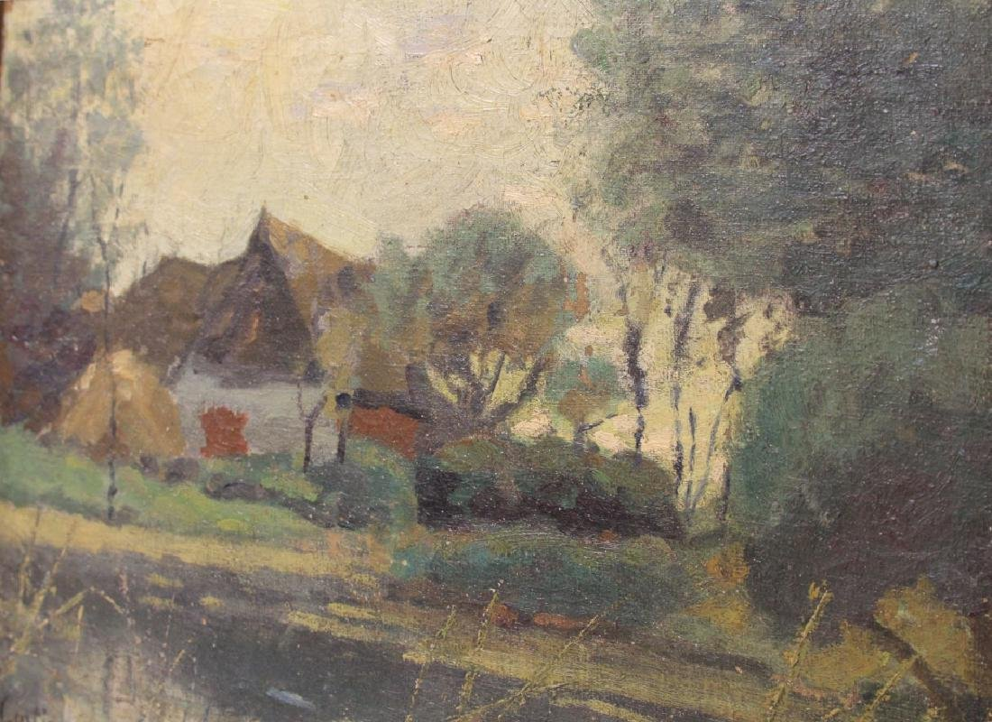 THOMAS R. CURTIN (1899-1977), OIL ON CANVAS - 3