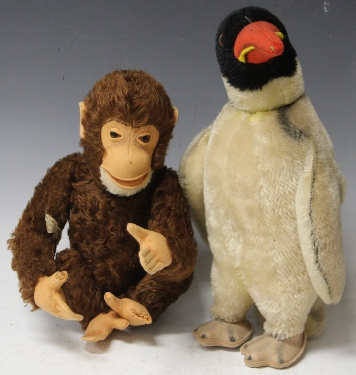 LOT OF (2) VINTAGE STEIFF ANIMALS