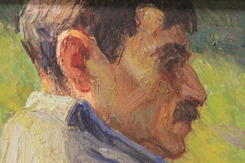 LOUIS AZEMA (1876-1963), OIL ON BOARD - 3