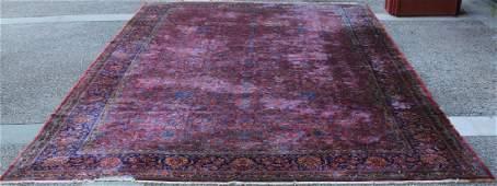 EARLY PALACE SIZE SAROUK PERSIAN CARPET