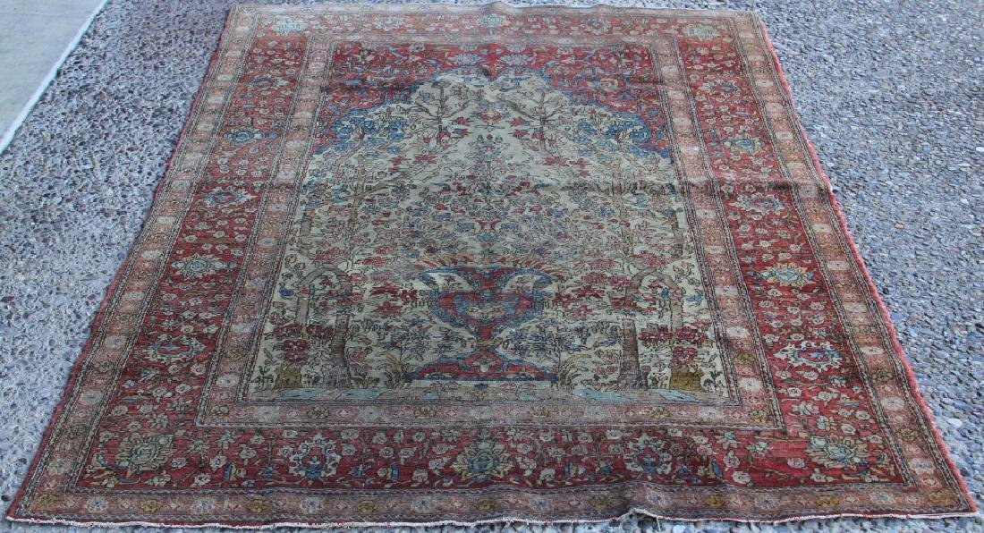 LATE 19TH/EARLY 20TH CENTURY PERSIAN CARPET
