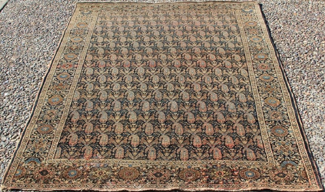 EARLY 20TH CENTURY TRIBAL WOVEN CARPET