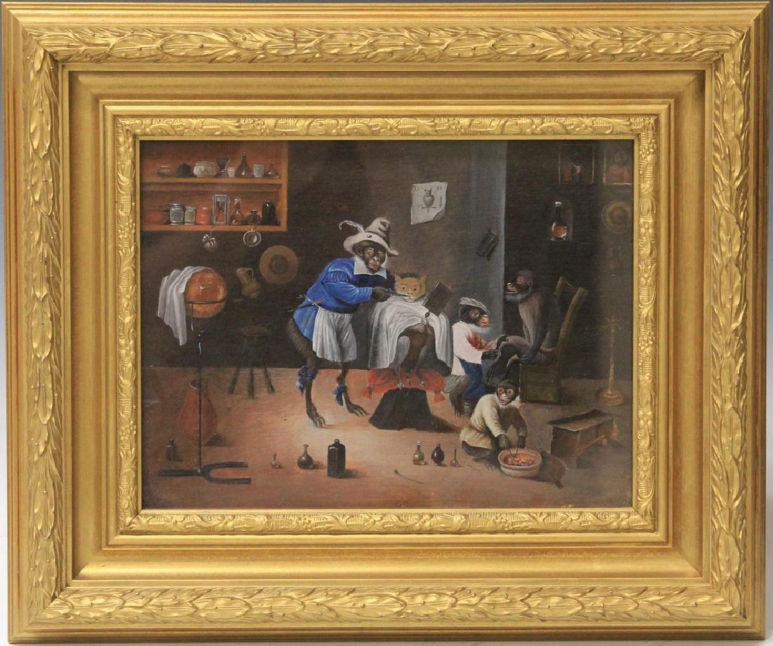 ZACHARIAS NOTERMANN (1820-1890), OIL ON BOARD
