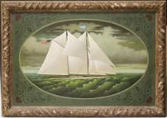 CHARLES WYSOCKI (1928-2002), OIL ON CANVAS
