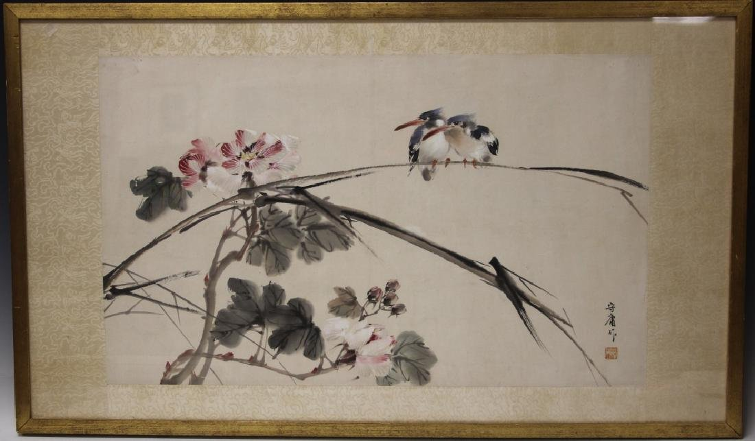 VINTAGE JAPANESE PAINTING, SIGNED