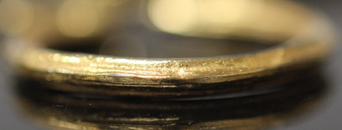 GROUPING OF (3) 10KT GOLD HOOP EARRINGS, 12.5 G - 2