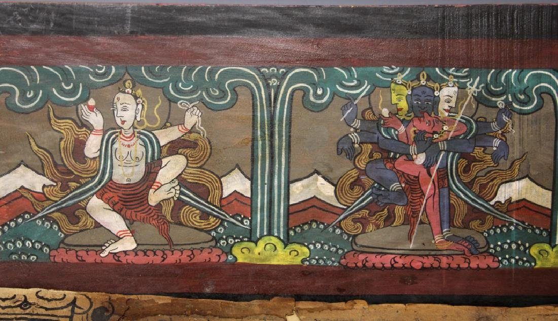 VINTAGE SOUTH EAST ASIAN SCROLL - 13