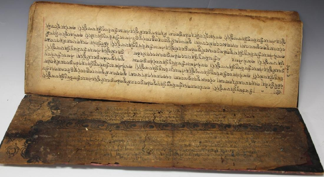 VINTAGE SOUTH EAST ASIAN SCROLL - 3