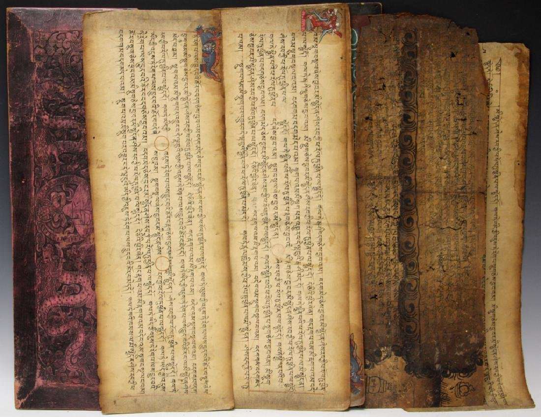 VINTAGE SOUTH EAST ASIAN SCROLL - 5