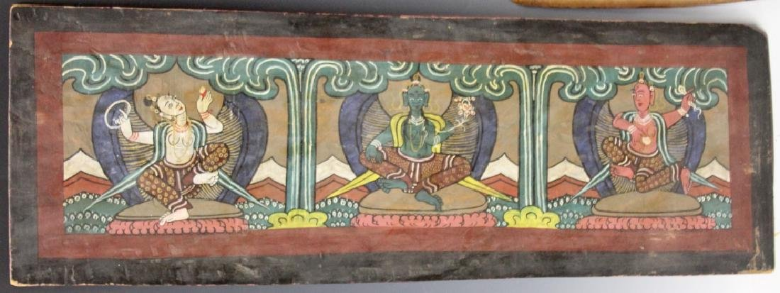 VINTAGE SOUTH EAST ASIAN SCROLL - 8