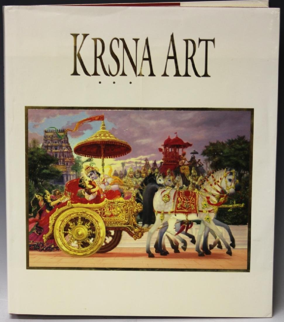 KRSNA ART COFFEE TABLE BOOK