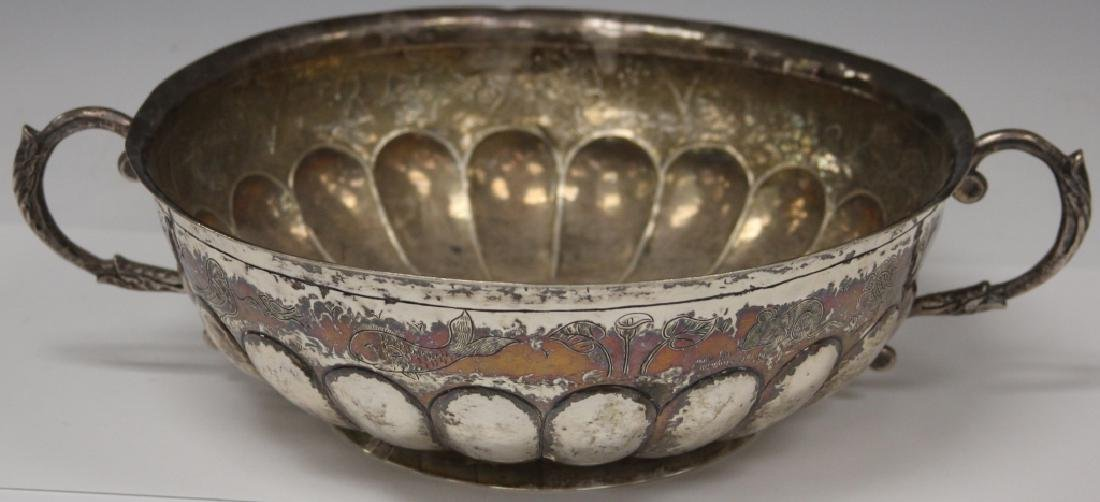 "SANBORNS SILVER CENTER BOWL, 13 1/2"" D"