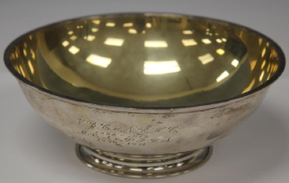 ALBERT EDHOLM STERLING SILVER CENTER BOWL
