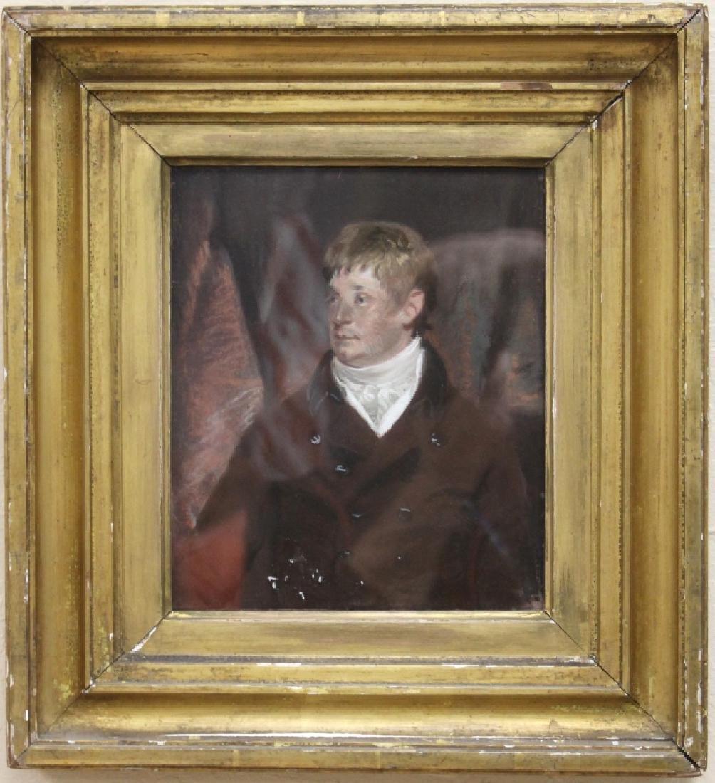 EARLY 19TH C. BRITISH PORTRAIT, PASTEL