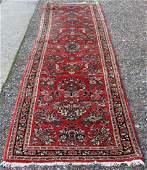 VINTAGE SAROUK PERSIAN RUNNER CARPET