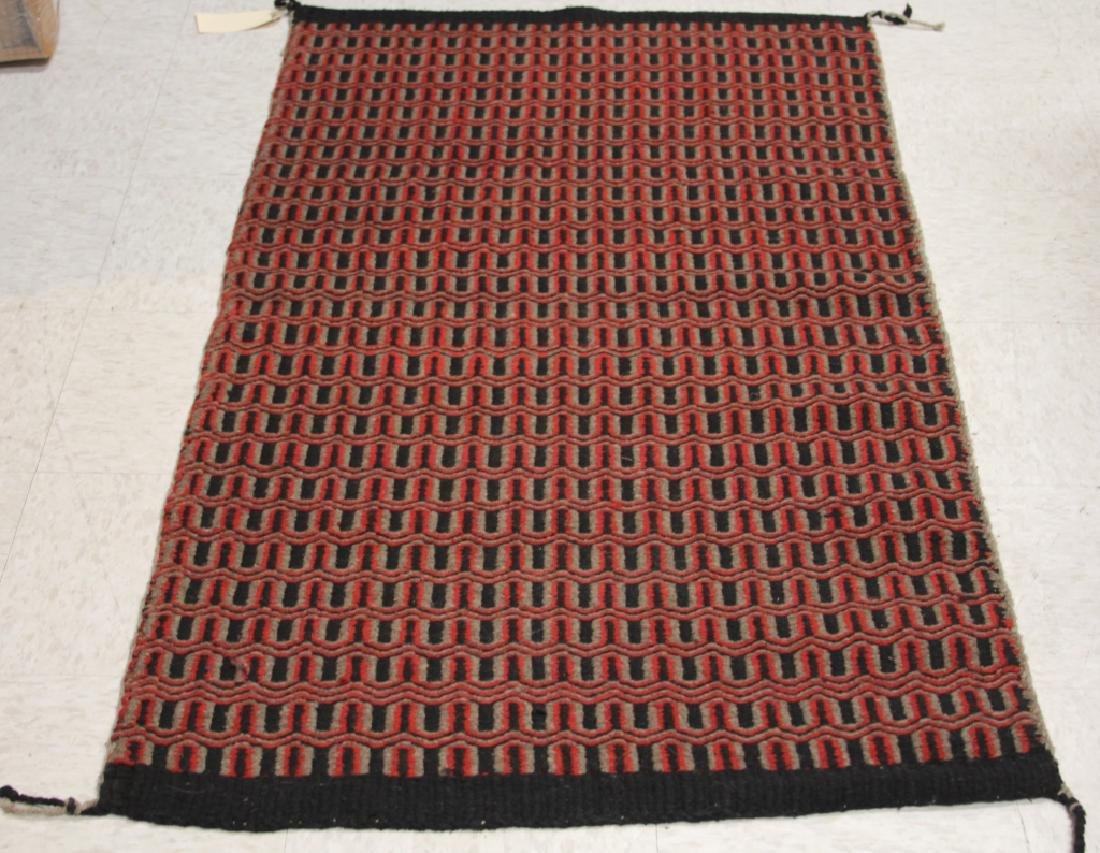 NATIVE AMERICAN WOVEN BLANKET