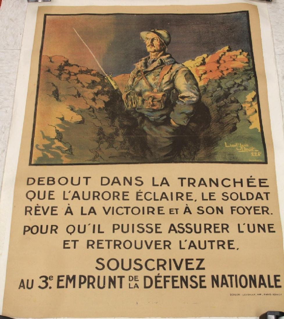 BERGER-LEVRAULT, PARIS WWI POSTER